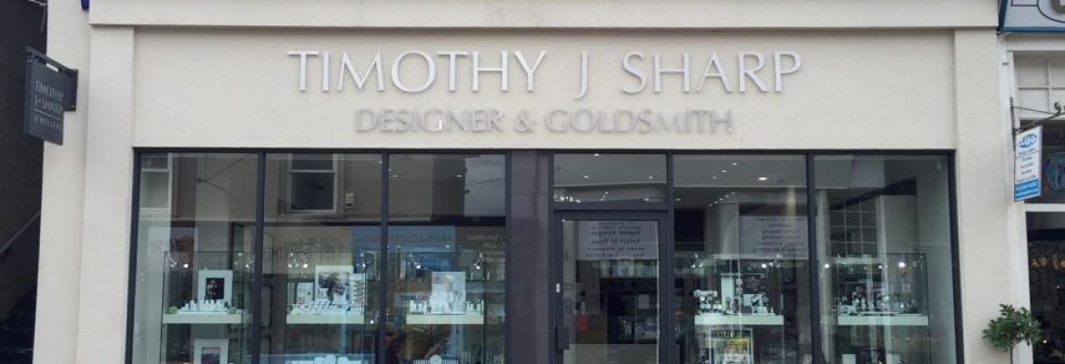 Timothy J Sharp Designer and Goldsmith