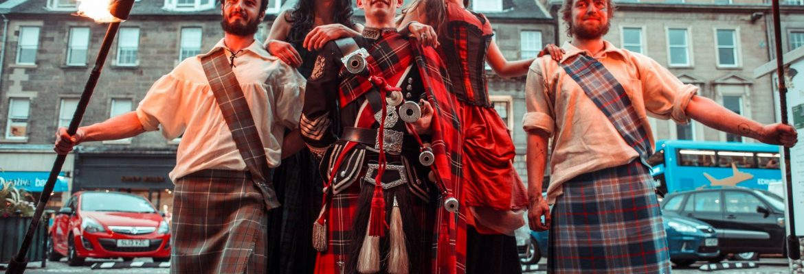 Pipe Major Roderick Deans