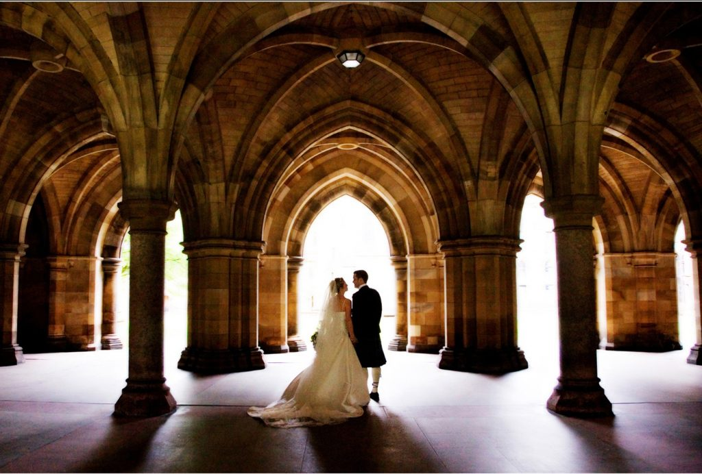 wedding venues glasgow university