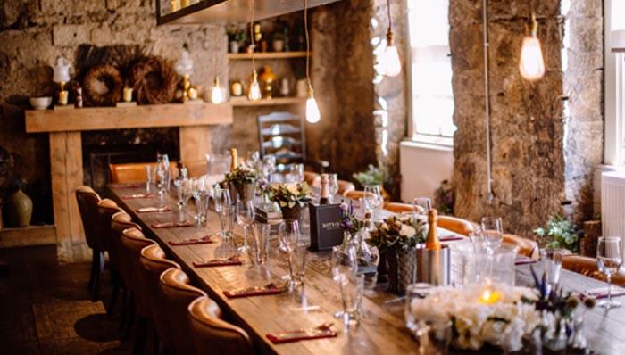 the bothy glasgow wedding venue